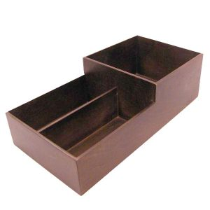 Cup & Lid Holder 3 Compartment