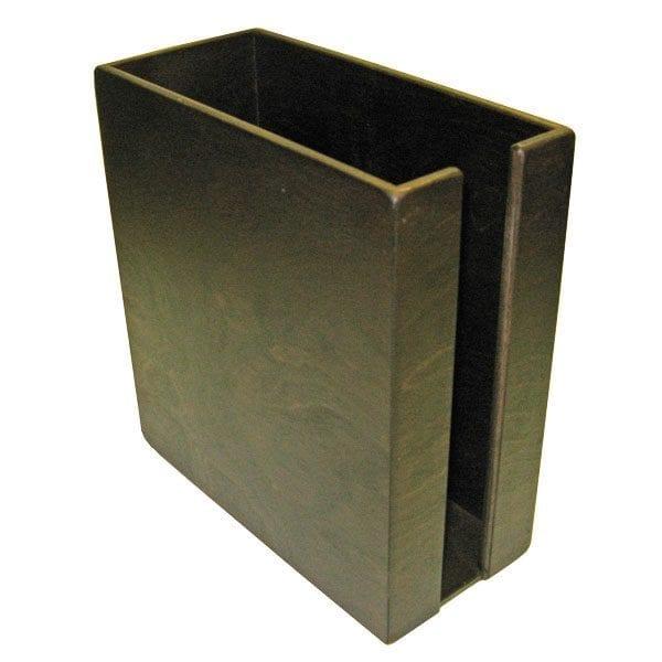 Dark Brown Rustic Cup & Lid Holder 283x132x300