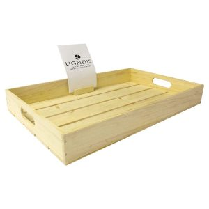 Rustic Slatted Tray 80mm Deep
