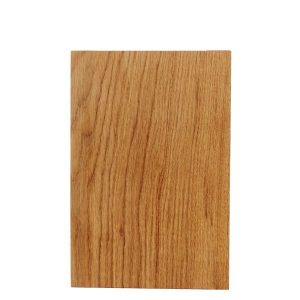 Rustic Square Edged Oak Chopping Board 350x220x34