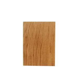Rustic Square Edged Oak Chopping Board 250x170x34