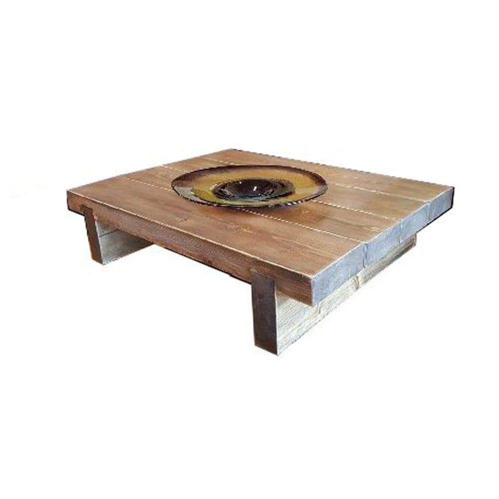 4 Sleeper Rustic Farmhouse Coffee Table 1000x780x295 Ligneus