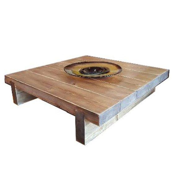 5 Sleeper Rustic Farmhouse Coffee Table 1000x975x295