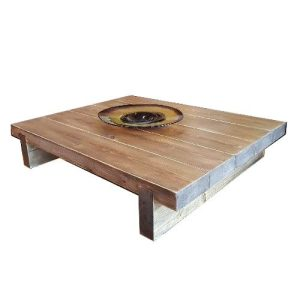 5 Sleeper Rustic Farmhouse Coffee Table 1200x975x295