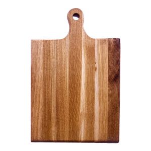 Rustic Hewn Edge Oak Paddle