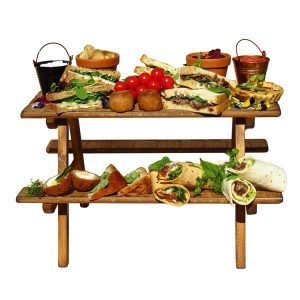 Food Display Risers