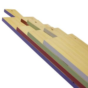Retro Coloured Edge Paddle