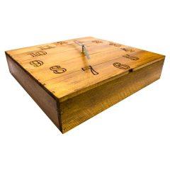 Rustic Box Clock