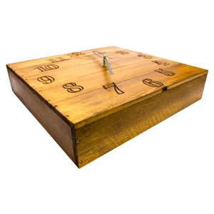 Rustic Box Clock