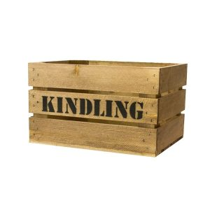 Rustic Kindling Crate 600x370x250
