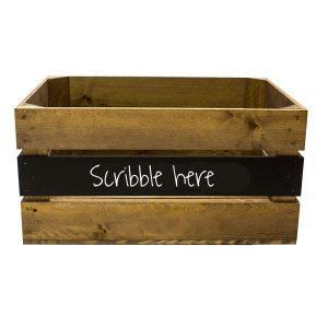 Blackboard Crates