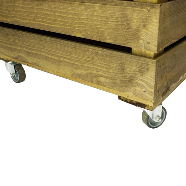 crates on wheels