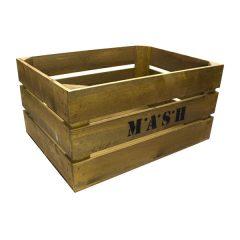 Rustic M*A*S*H Crate