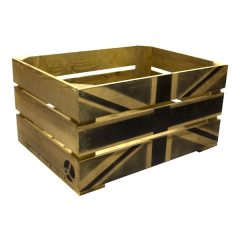 Rustic Black Jack Crate 600x370x250
