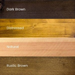 4 Wood stain finishes