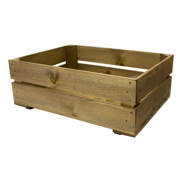 Shallow Rustic Crate 500x370x165