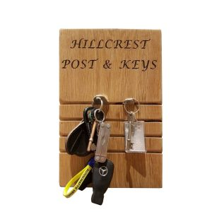 4 slot post and key tidy