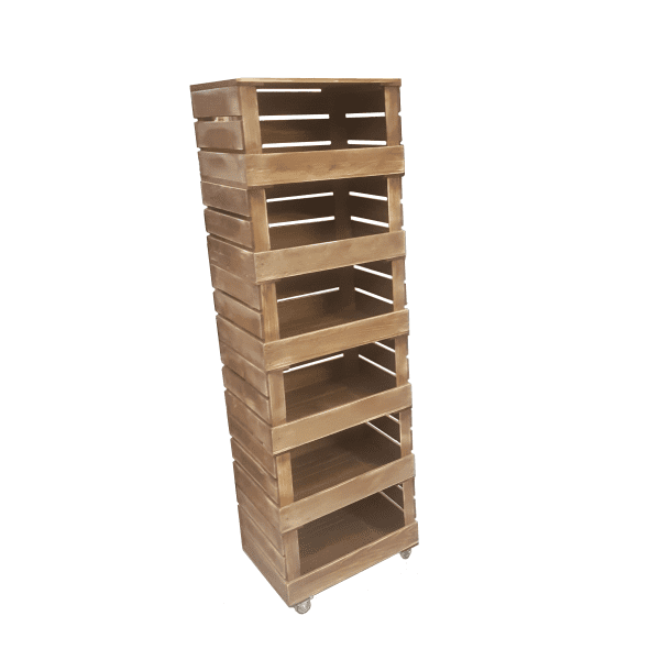 6 stacker crate system