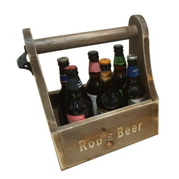 Rustic Beer Caddy