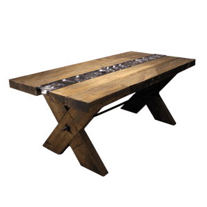 rustic gastronorm al fresco table plain