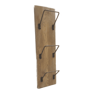 Newspaper, Post & Wine Triple Rack 610x150x1