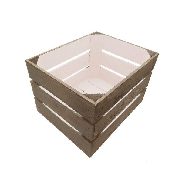 Cherrington Pink colour burst crate 300x370x250