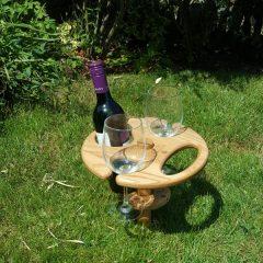 garden wine waiter in use