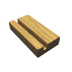 oak tablet holder