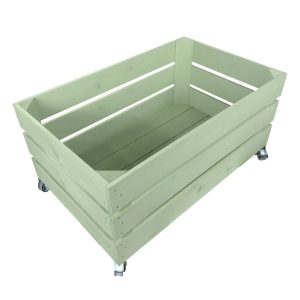 frampton green mobile painted crate 600x370x330