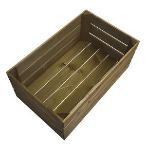 large brown crate plain