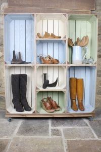 mobile colour burst crate display 8 4 4 in situ the boot one