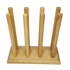 Oak Welly Rack 4 Pair (4 tall 0 short)