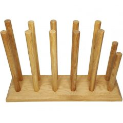 Oak Welly Rack 6 Pair (5 tall 1 short)
