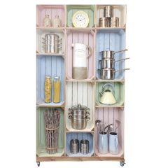 wide 12 kitchen display crate display