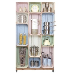wide 12 kitchen display crate display