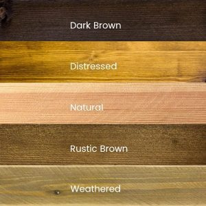 Wood stain finishes