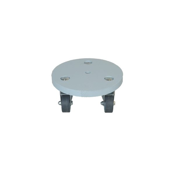 Nailsworth Blue small painted round pot stand plain