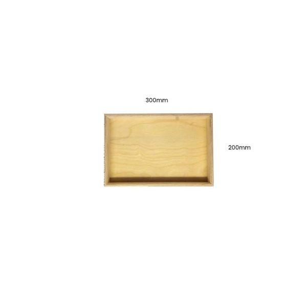 Natural Birch Ply Box 300x200x80
