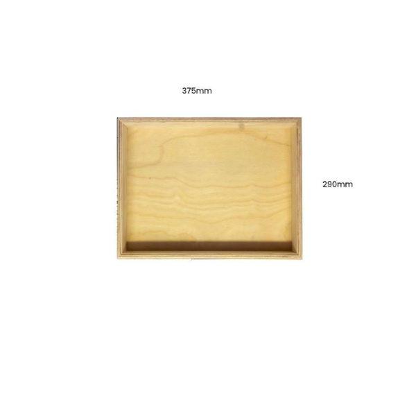 Natural Birch Ply Box 375x290x80