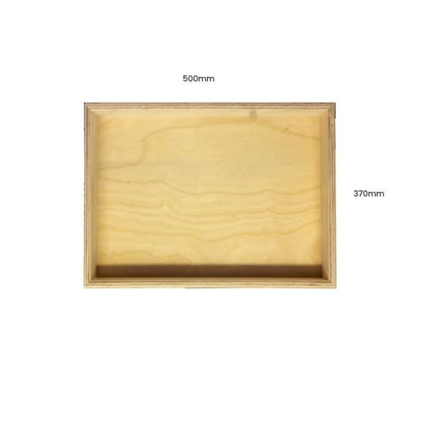 Natural Birch Ply Box Tray 500370