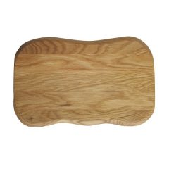 rustic oak placemat plain