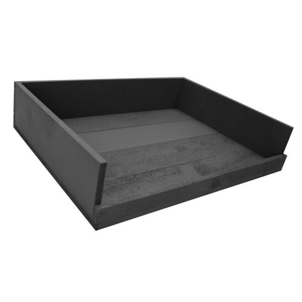 Amberley Grey Painted Drop Front Tray 375x290x80