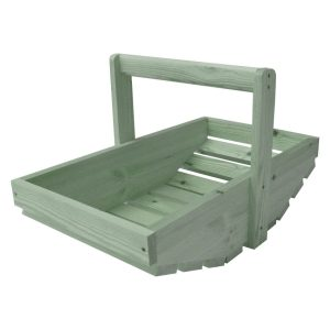 Tetbury Green Large Painted Garden Trug 535x310x310