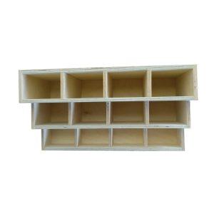 3 tier 12 compartment Condiment Unit top plain