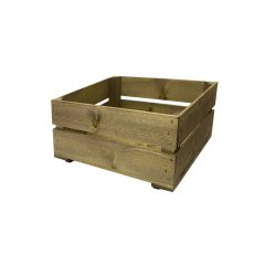 300mm shallow rustic crate