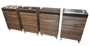 Gastronorm Crate Trolleys