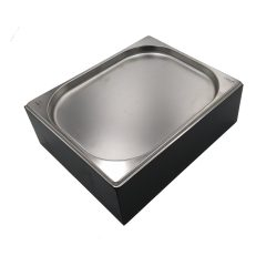 Black GN1/2 Gastronorm Painted Ply Box Display Unit 325x265x108