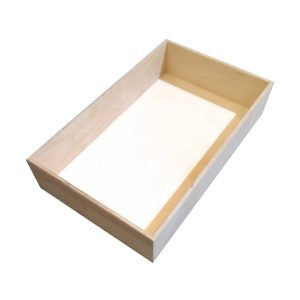 Natural 138mm GN11 Gastronorm ply box display unit plain