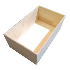 Natural 208mm GN11 Gastronorm ply box display unit plain