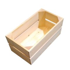 Natural Stained 138mm GN13 Gastronorm crate plain